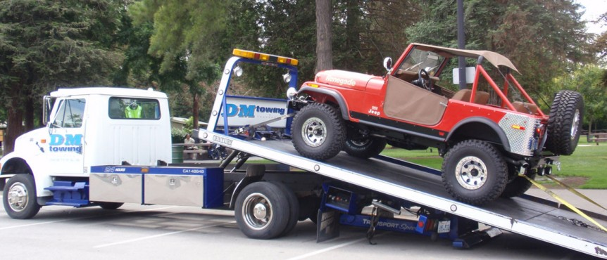 24 Hour Private Property Towing